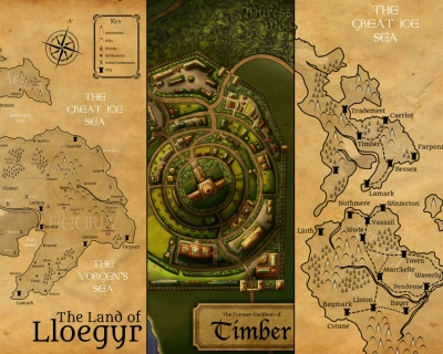 Maps of Lloegyr