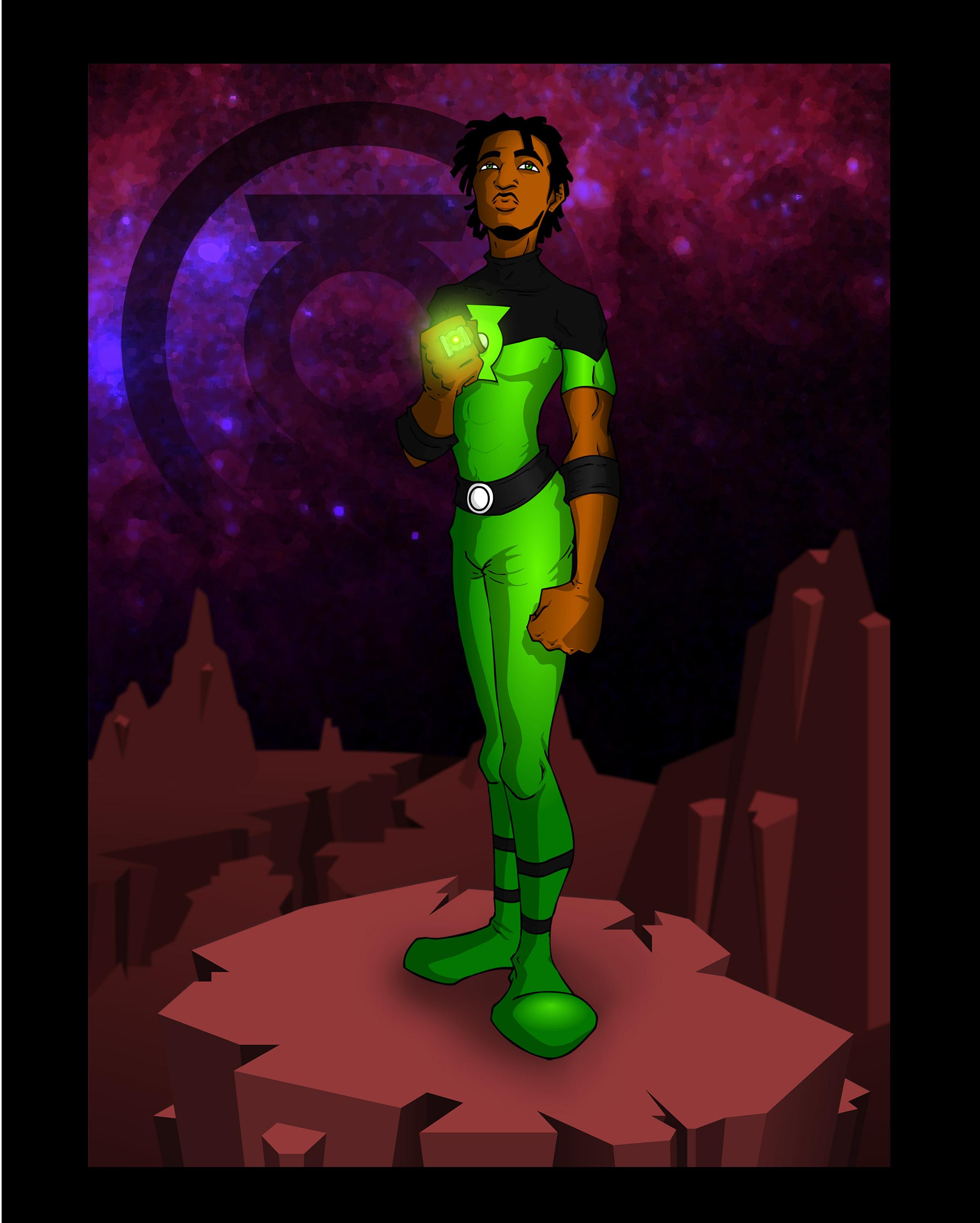 Green Lantern: Midori Sugoi