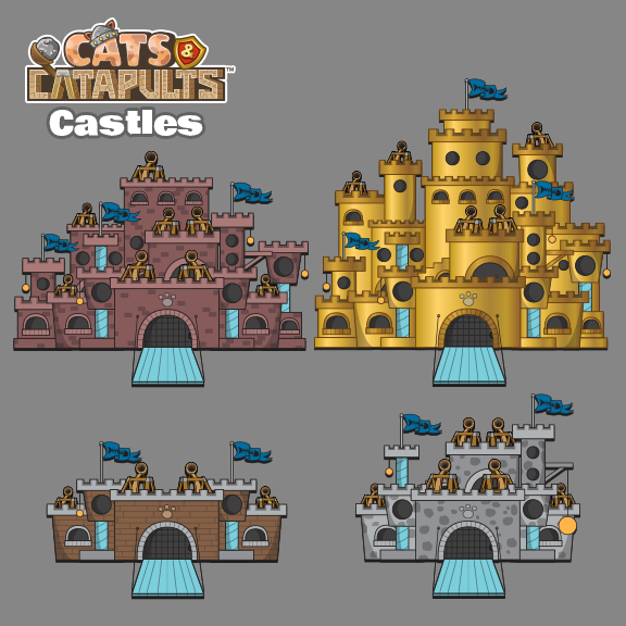 Cats & Catapults - Castles