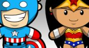 Superhero Chibis