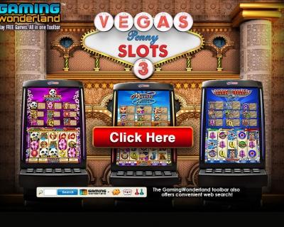 Vegas Penny Slots : Landing Page