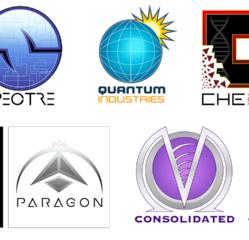 MindsEyeSociety – Space: The Infinite Edge Logos